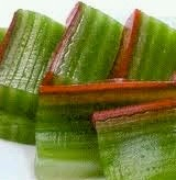 resep kue pepe betawi hijau