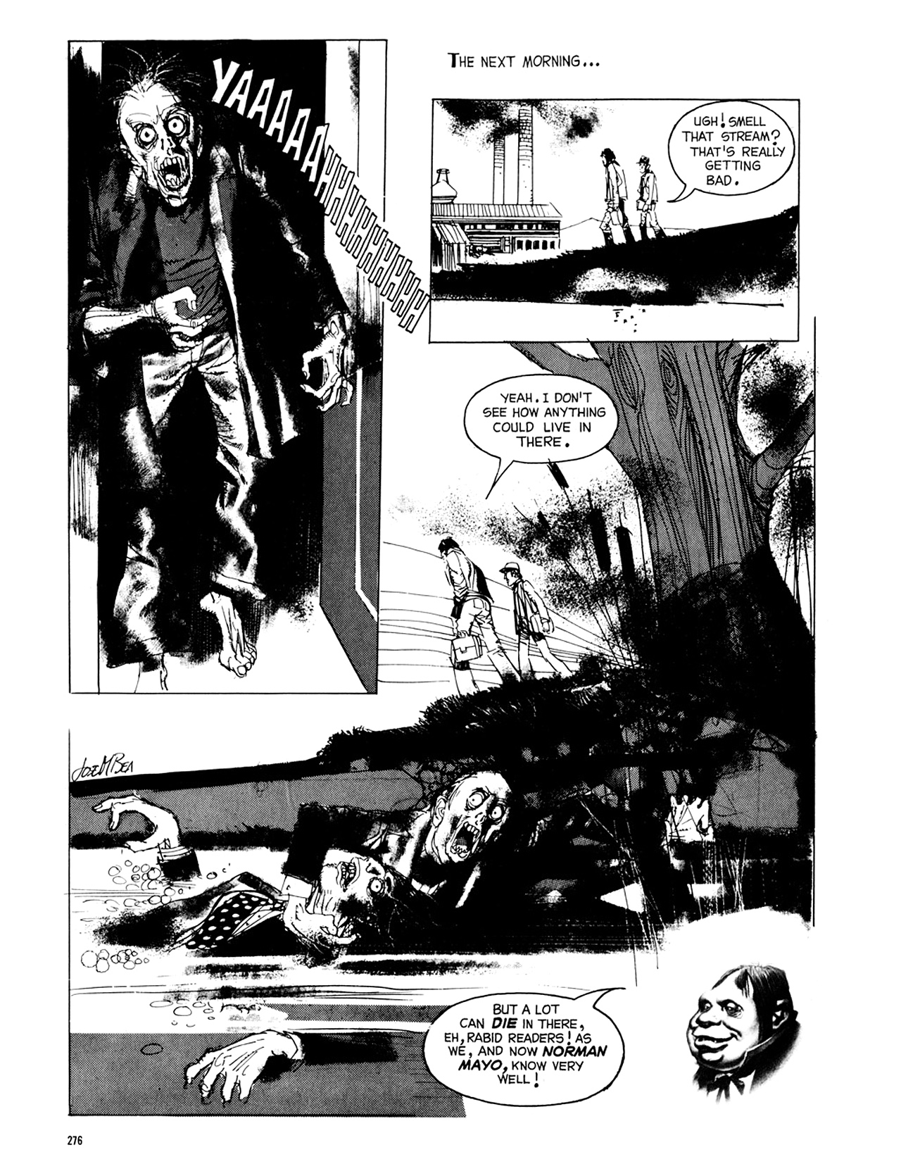 Read online Eerie Archives comic -  Issue # TPB 8 - 277