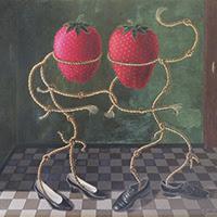 Gervasio Gallardo pintura figurativa surrealista