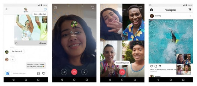 Instagram now has group video calling feature!