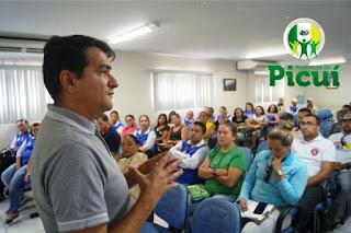 Prefeitura de Picuí faz primeira reunião da nova gestão com agentes de saúde e endemias