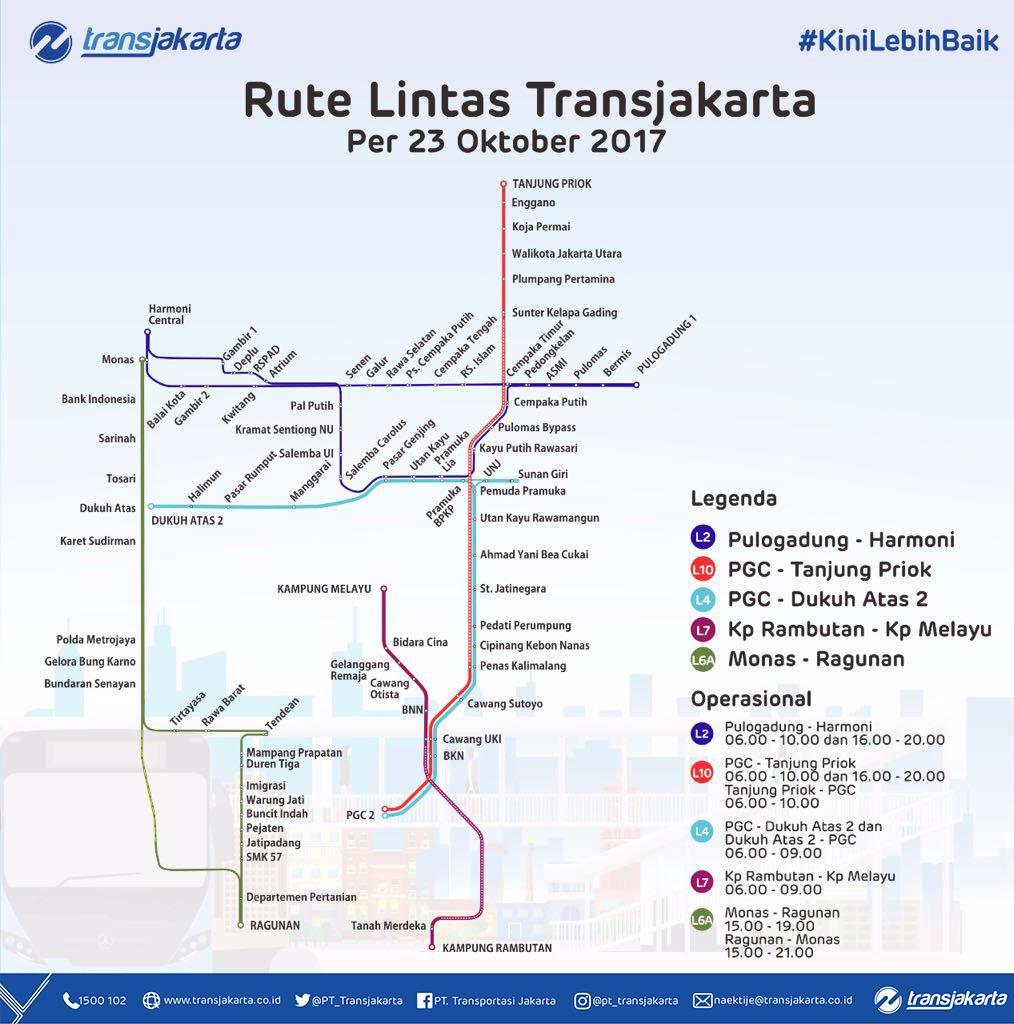 Dari Monas Ke Ragunan Dalam Satu Jam Naik Transjakarta Koridor L6a