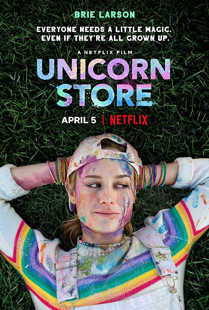 Unicorn Store 2019 Netflix movie poster Brie Larson