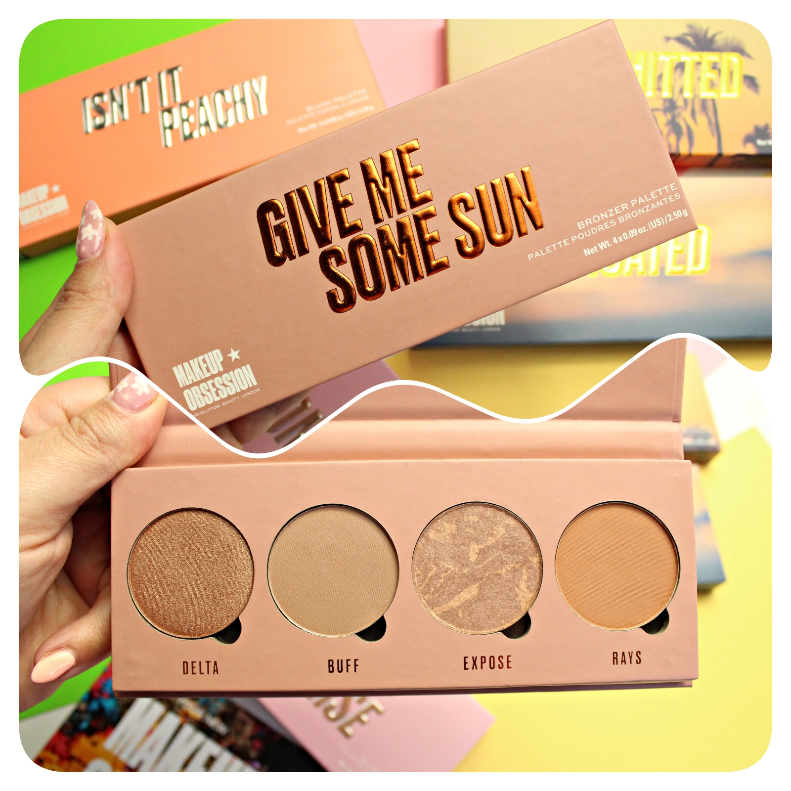 Makeup Obsession Give Me Some Sun Palette