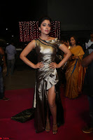 Shreya Saran in Skin Tight Golden Gown ~  Exclusive 045.JPG
