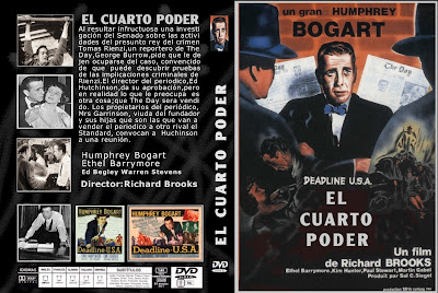 Carátula dvd: El cuarto poder 1952