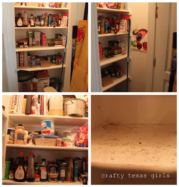 """9 Tips For A Perfectly Organized Pantry: Crafty Texas Girls: The """"Perfect"""" Pantry?"""