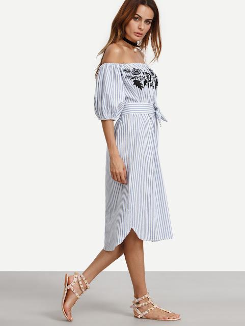 http://www.romwe.com/Blue-Vertical-Striped-Off-The-Shoulder-Embroidered-Dress-p-174871-cat-664.html?utm_source=treschicbypaulina.com&utm_medium=blogger&url_from=treschicbypaulina