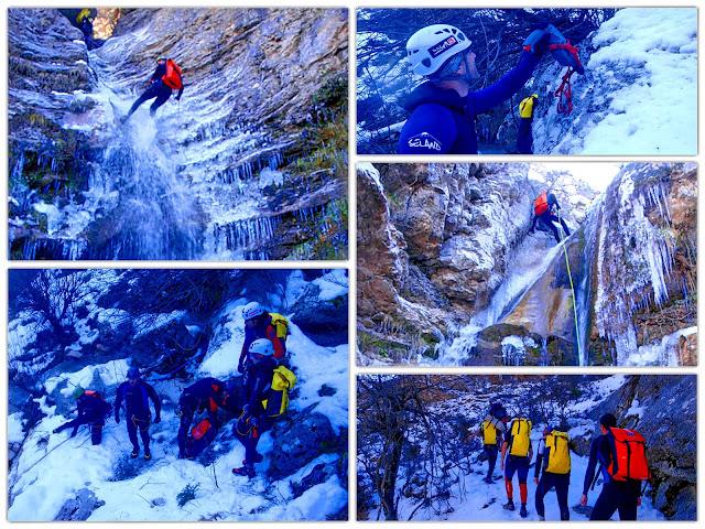 ΤΖΟΥΜΕΡΚΑ:Ice canyoning σε Μακρυχώραφα-Κακαρδίτσα!