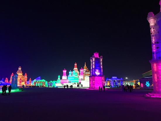 Ice and Snow World, Harbin, China
