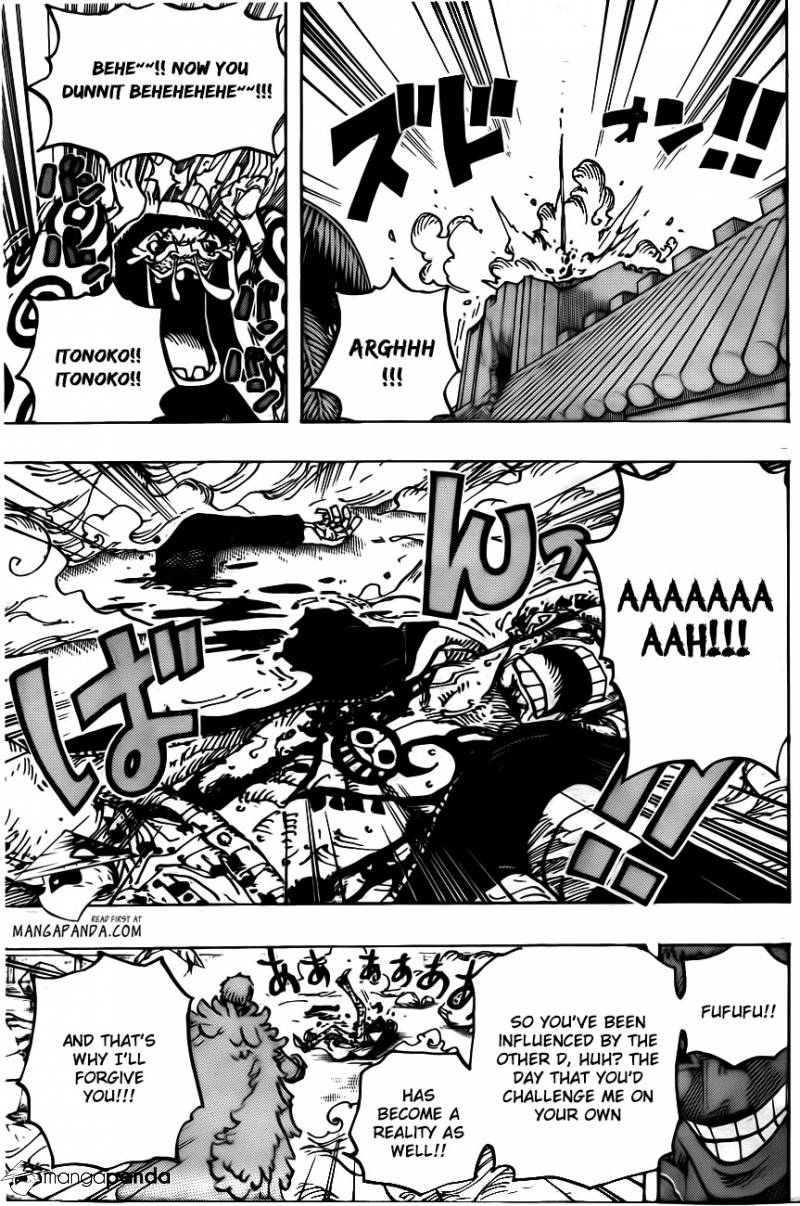 One Piece Ch 769: The Pirate Bellamy