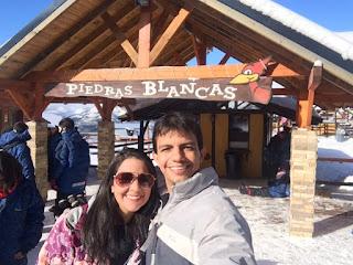 Entrada do parque Piedras Blancas em Bariloche