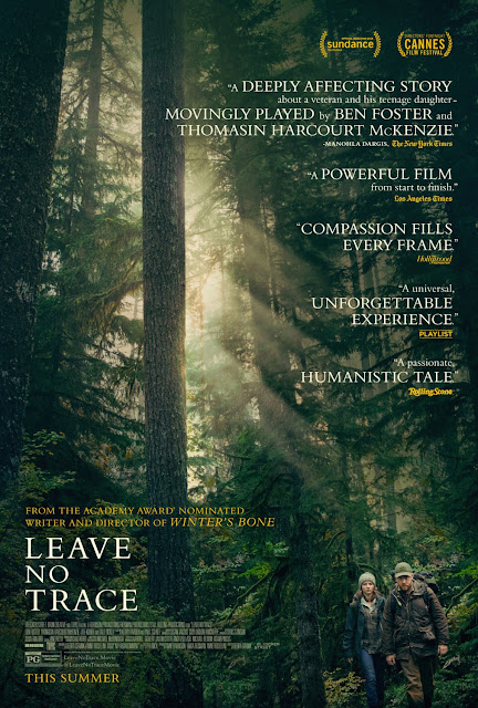 Leave No Trace 2018 movie poster