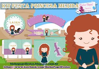 Kit Festa Merida