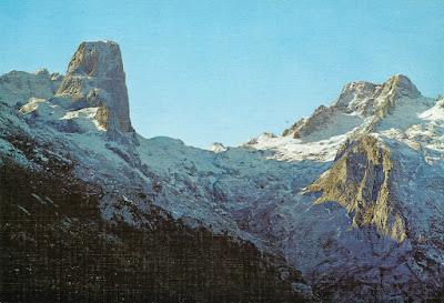 Picos de Europa. Naranjo de Bulnes