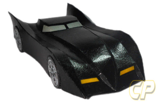 Batmobile Paper Model (Download) ~ Cepot Patel Paper Model