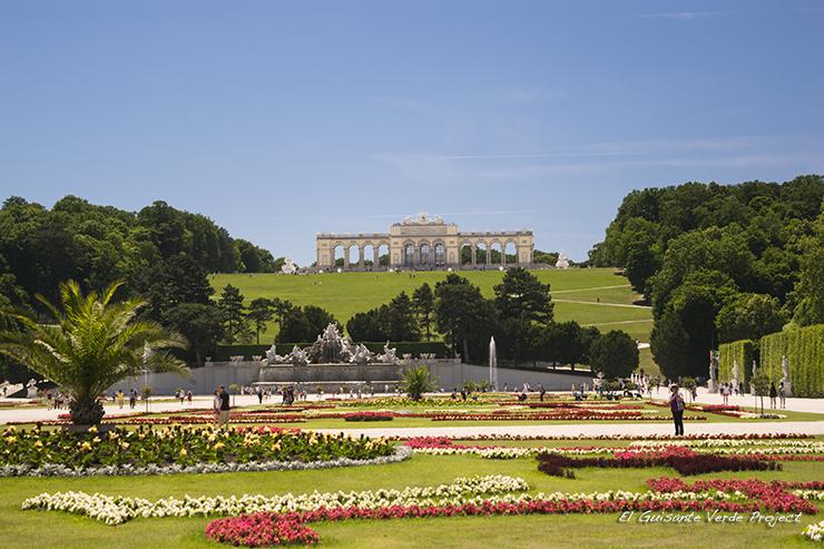 Pérgola del Schönbrunn - Viena por El Guisante Verde Project