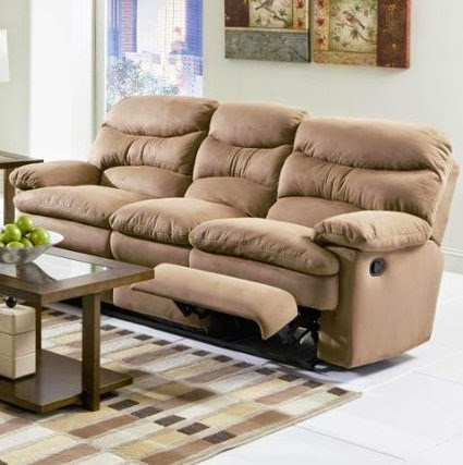Microsuede Reclining Sofa Reclining Sofa And Loveseat