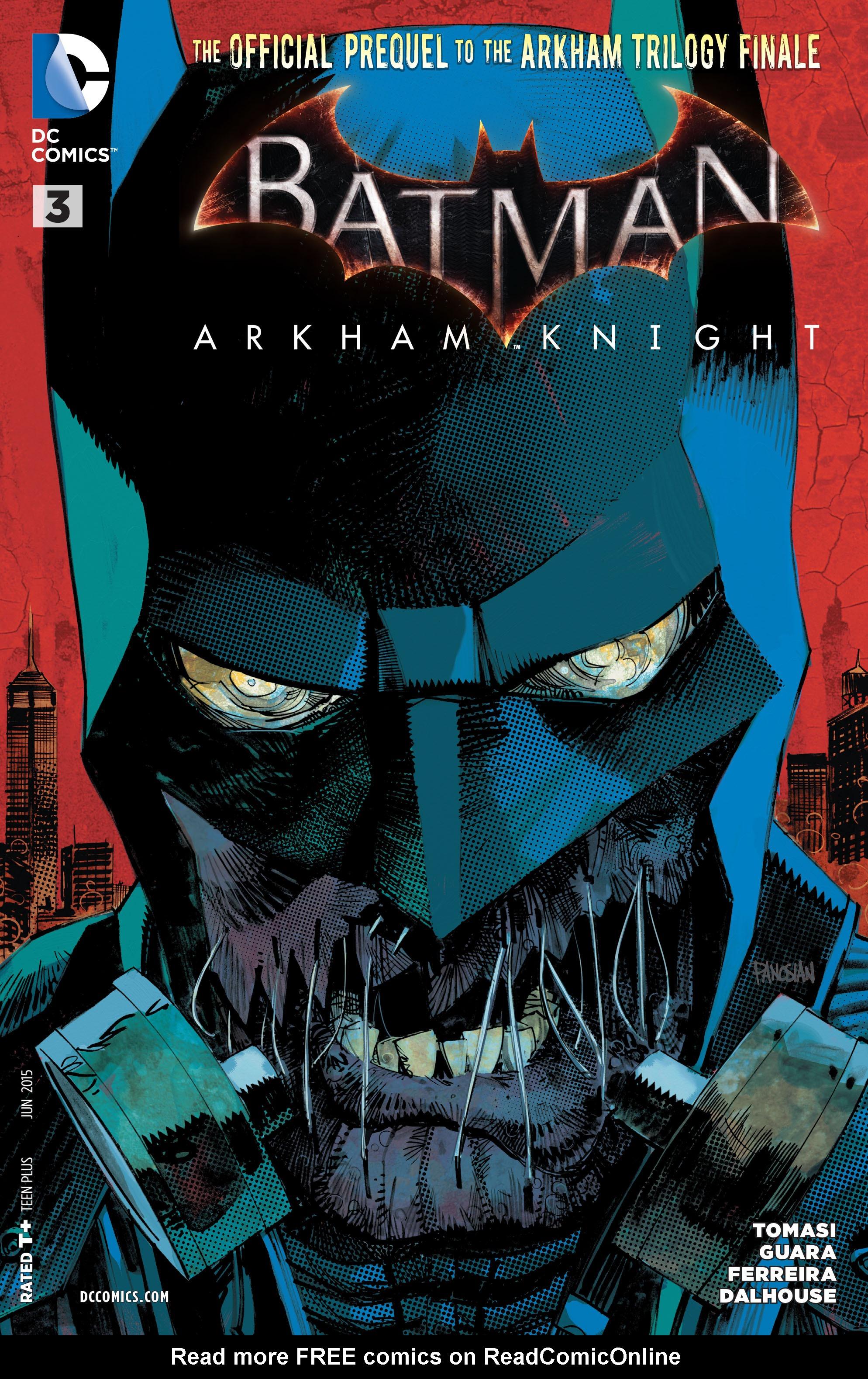 Batman: Arkham Knight [II] 3 Page 1