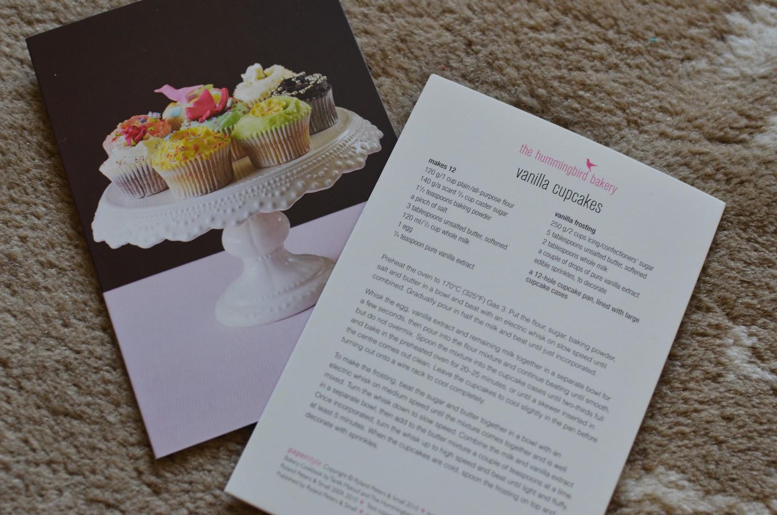 Hummingbird Bakery Vanilla Sponge Cake Recipe