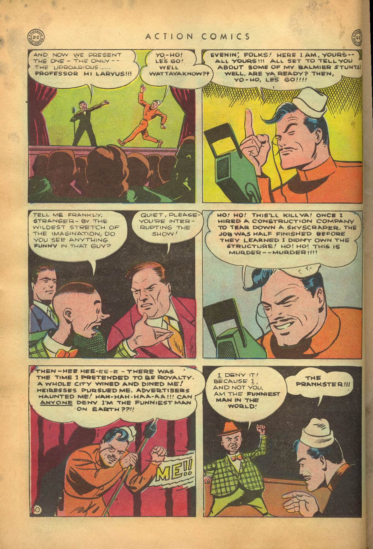 Read online Action Comics (1938) comic -  Issue #95 - 13