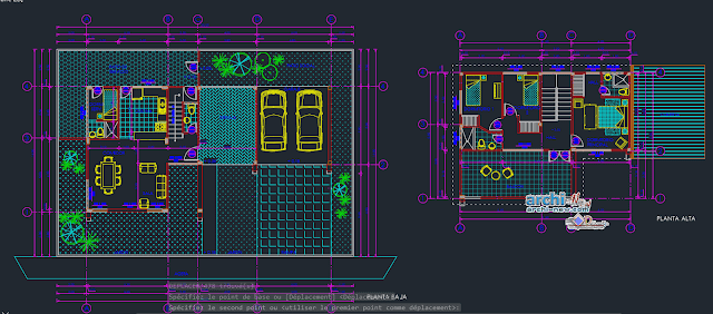 House rustic brito in AutoCAD
