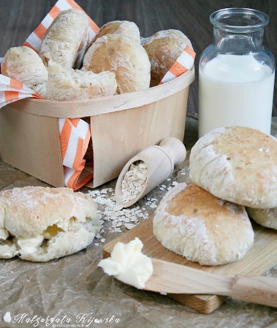 bułeczki śniadaniowe, kolacja, wypieki, pieczywo, drożdżowe, daylicooking, Małgorzata Kijowska