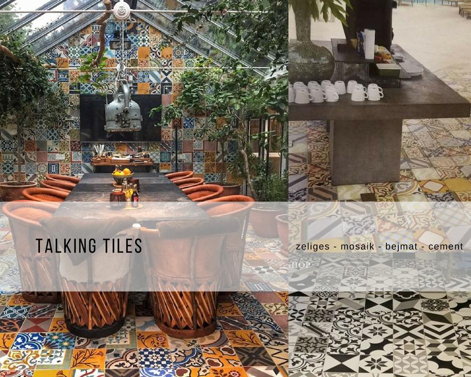 zellige, cement tiles, mosaic, bejmat