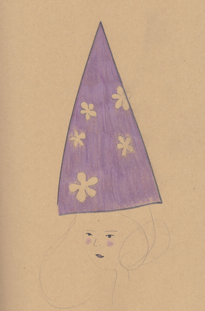 Purple Pointy Hat sketch