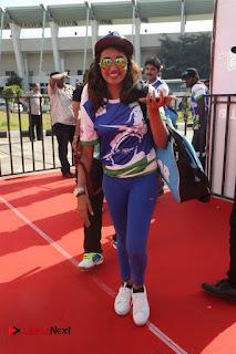 Actress Tejaswi Madivada Stills at CBL 2016 (Celebrity Badminton League) Event  0005