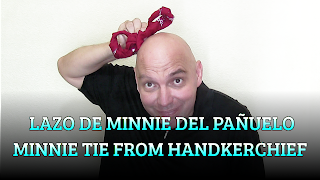 Lazo de Minnie del pañuelo, CHAPEAUGRAPHY, Minnie tie from handkerchief