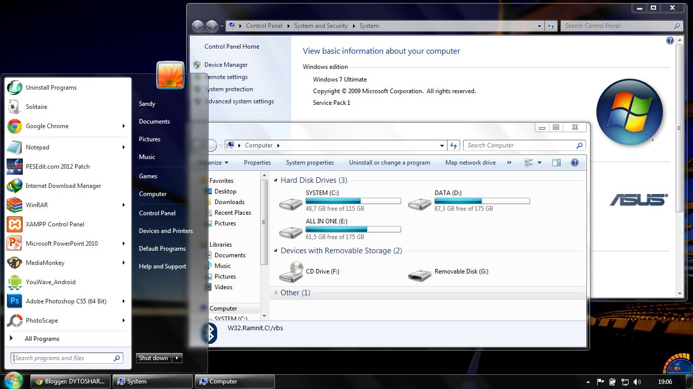Just IT Club: Windows 7 Ultimate SP1 ISO 32 64 Bit Download