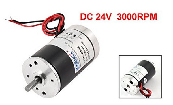 24v 3000rpm 5mm shaft dia permanent magnetic speed reduce for How to reduce motor speed
