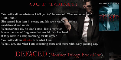 Defaced: A Dark Romance Novel is Out Now!