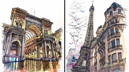 00-Akihito-Horigome-Travelling-Drawing-and-Painting-www-designstack-co