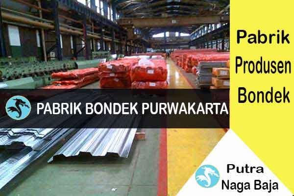 Pabrik Bondek di Purwakarta