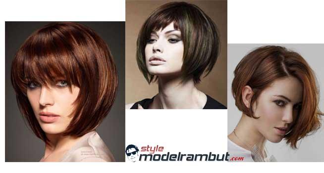 Model Medium Bob Wanita Terbaru