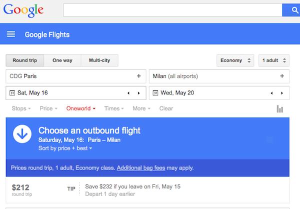 google flights uses material design. Black Bedroom Furniture Sets. Home Design Ideas