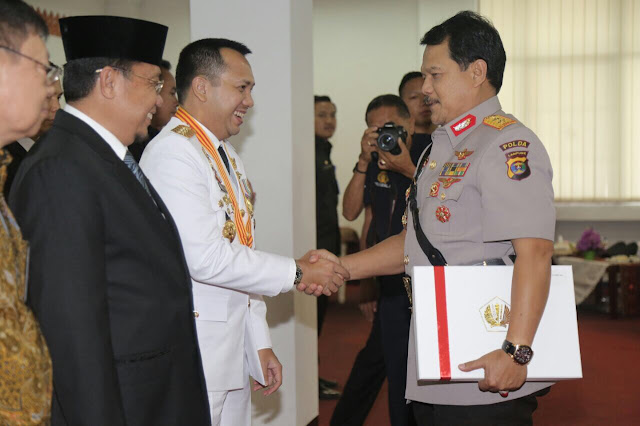 Serahkan DIPA, Gubernur Ridho Akselerasi Pertumbuhan Provinsi Lampung Yang berkeadilan