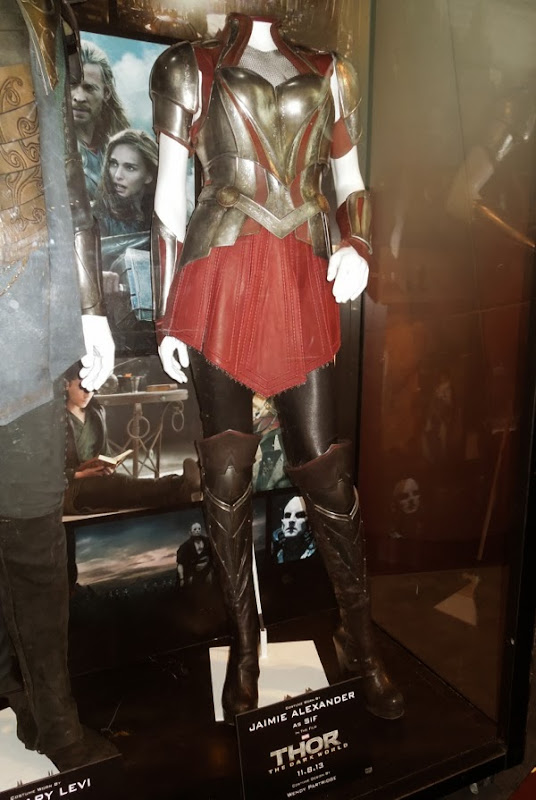 Jaimie Alexander Sif battle armor costume Thor Dark World