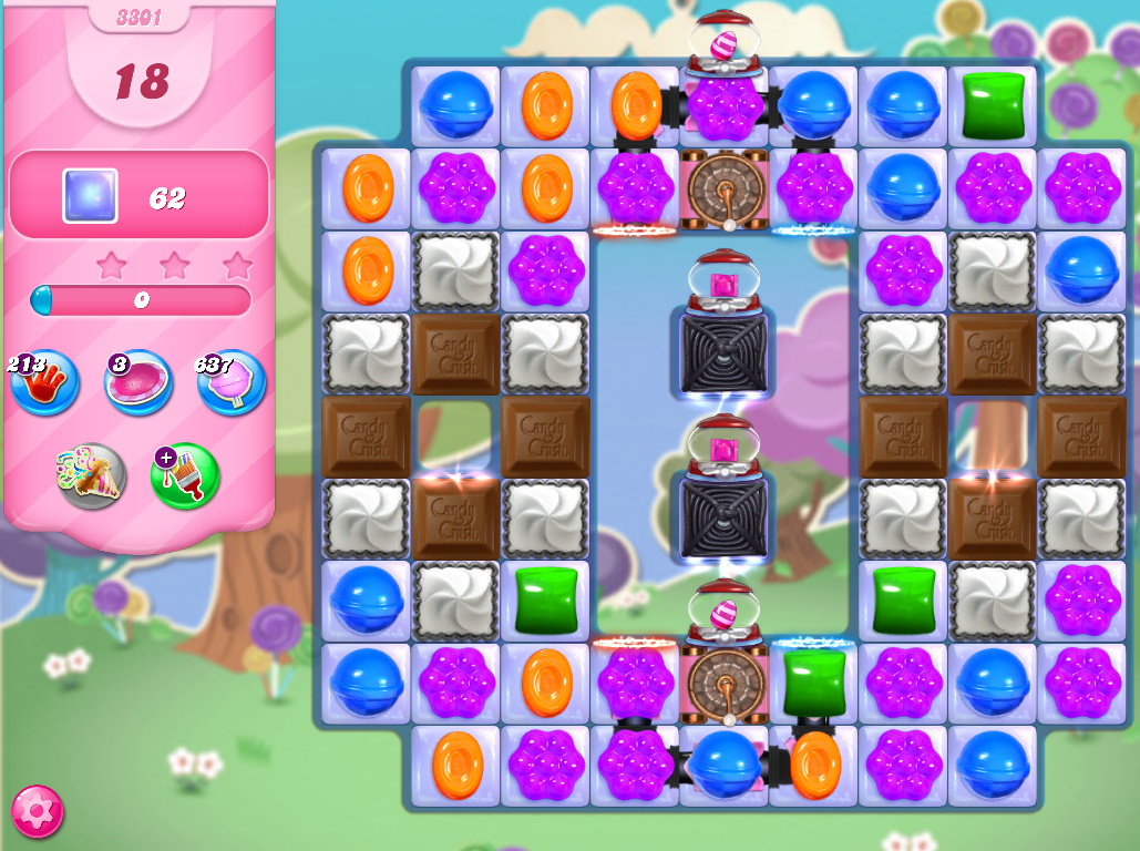 Candy Crush Saga level 3301