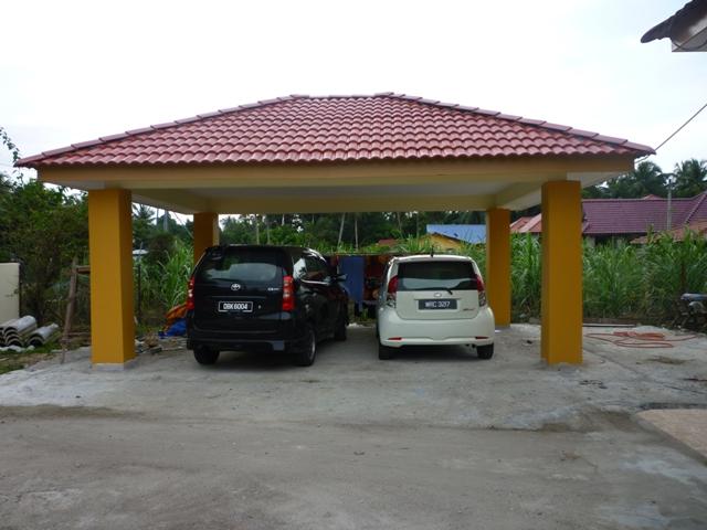 Garaj Kereta Moden Desainrumahid
