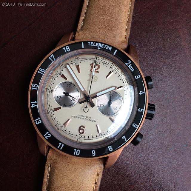 TC-9 LunarScope Chronograph cream