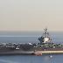 Μια κωμόπολη έφτασε στη Σούδα! Το πυρηνοκίνητο αεροπλανοφόρο Τζορτζ Μπους κατέπλευσε στο λιμάνι» (ΒΙΝΤΕΟ)