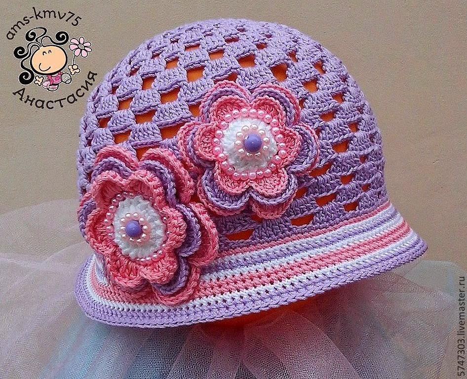 28787096459f5 Croche pro Bebe  Gorros e chapéu em croche achados na net