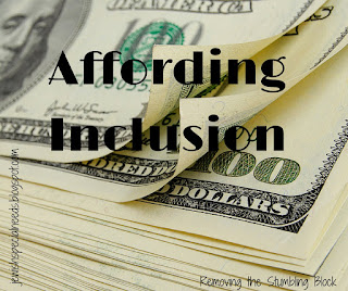 Affording Inclusion; Removng the Stumbling Block