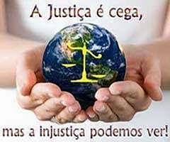 A injustiça podemos ver