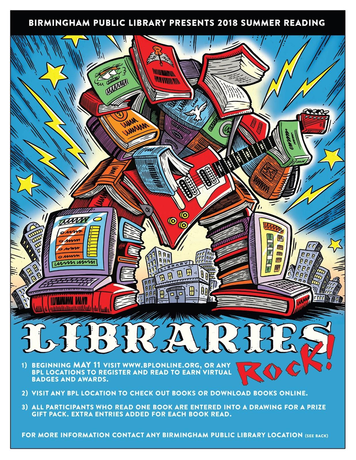 Birmingham Public Library: May 2018