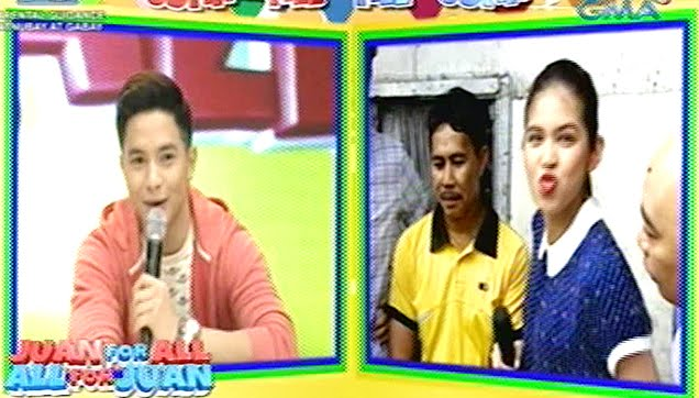 Alden and Maine provoke each other for a real lip kiss