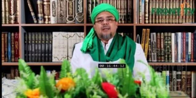Habib Rizieq: Prabowo Harus Dinyatakan Menang Pilpres, Berapa pun Suaranya